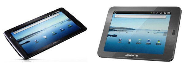 Archos-Arnova-android tablets