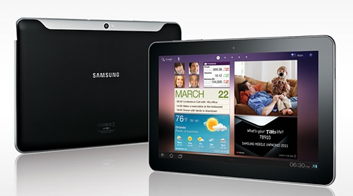 Samsung Galaxy Tabs 89 101 6 Best Android Tablets For 2012