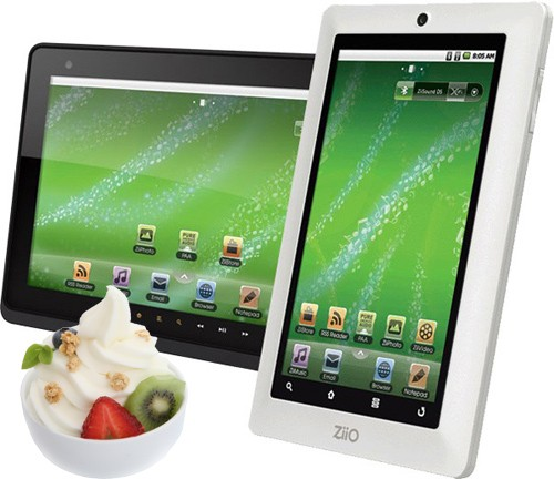 creative ziio tablets Creatives 7 inch ZiiO Tablet To Finally Receive Android 2.2 Froyo Update