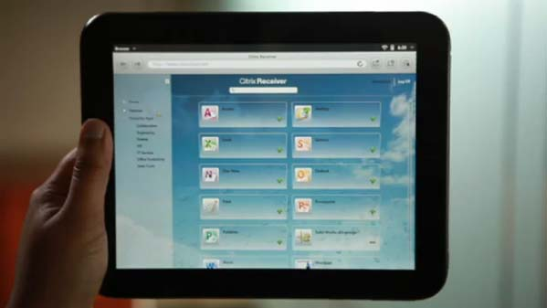 hp touchpad tablet. HP Touchpad Tablet Gets The