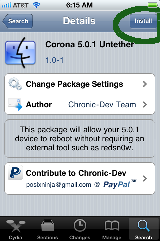 Untethered iOS 5.0.1 Jailbreak Officially Out
