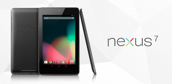 Google Nexus 7 tablet 6 Best Android Tablets For 2012