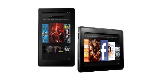 amazon kindle fire HD tablets 6 Best Android Tablets For 2012