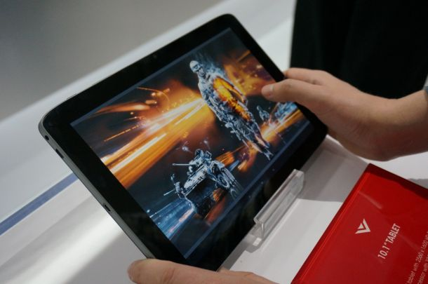 Vizio Tegra 4 Android tablet Vizio Introduces a 10 inch Tegra 4 Tablet and a Skinny 7 inch Android Slate