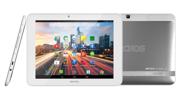 8-inch Archos Helium 4G Tablet Breaks Cover