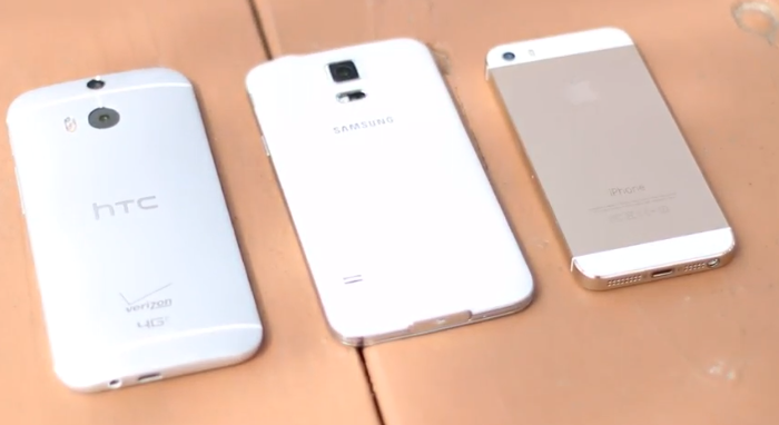 Video: Drop Test Samsung Galaxy S 5 Vs iPhone 5S, VS HTC One M8, Which Stronger