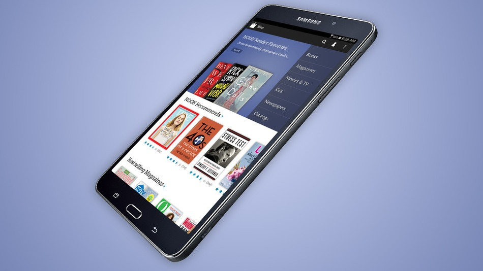 Samsung and Barnes & Noble Announce Galaxy Tab 4 Nook