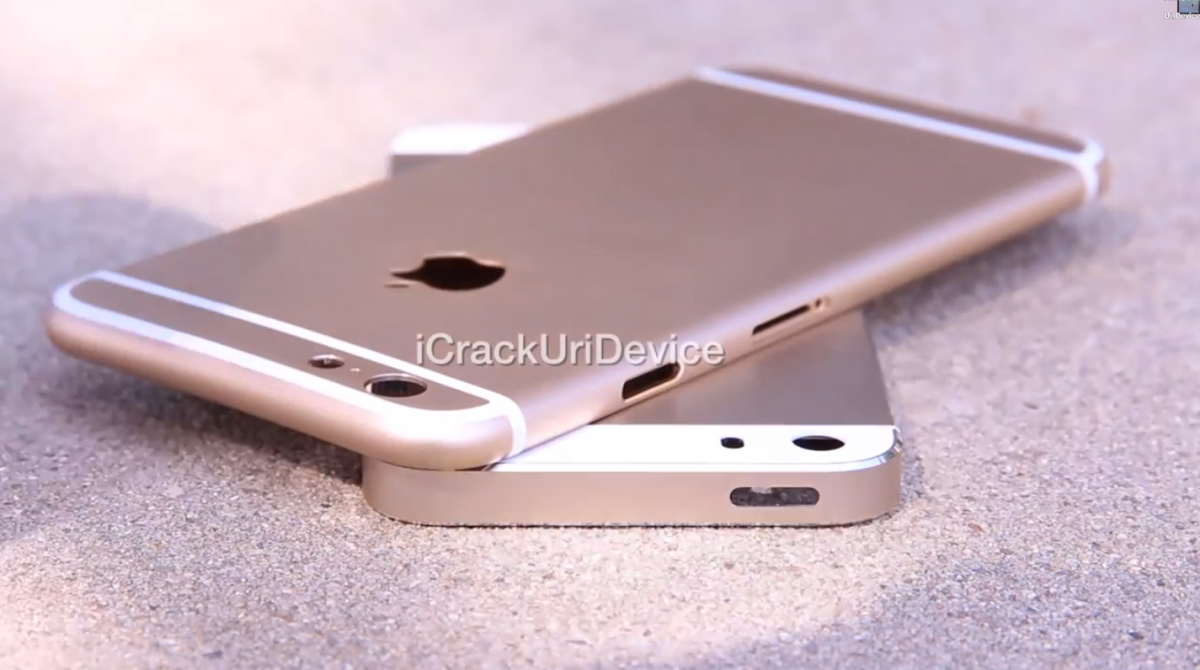 Leaked Footage of the iPhone 6 Back Plate Suggest New Logo and Hardware Rearrangement