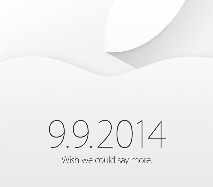Apple Sends Invitations For September 9 iPhone 6 Event