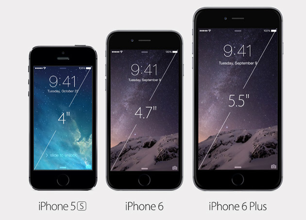 Apple Announces New iPhone 6 and 6 Plus Smartphones