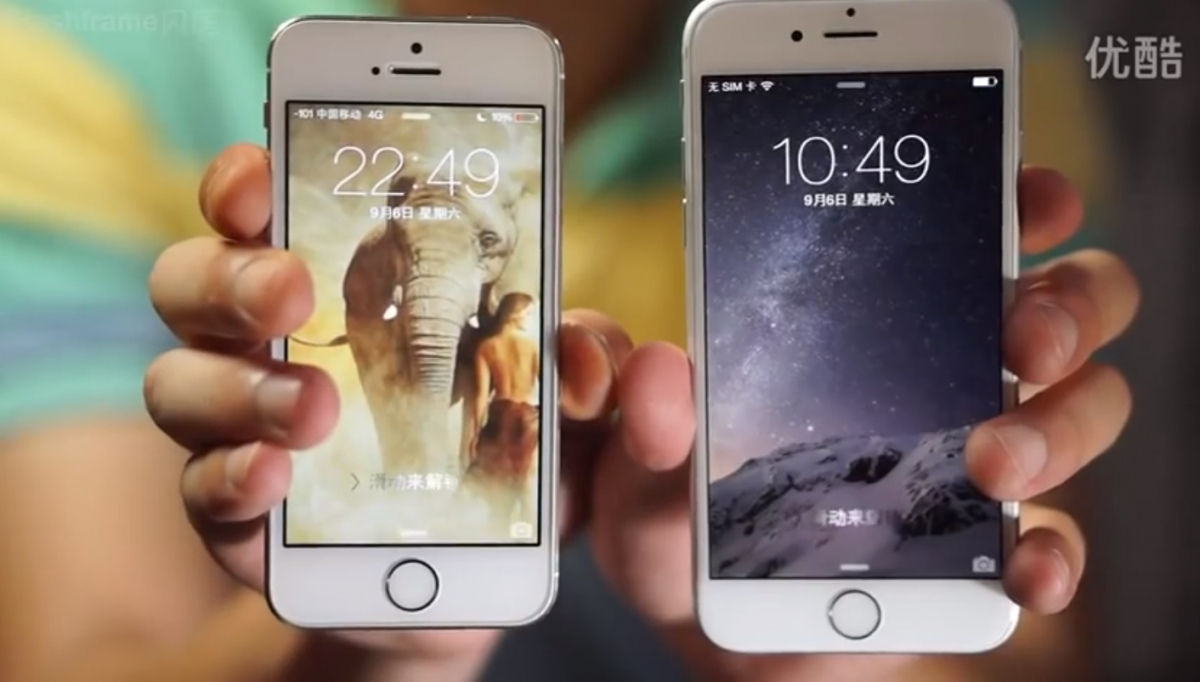 VIDEO: Fully Working iPhone 6 Spotted Online a Few Hours Ahead Of Apple event