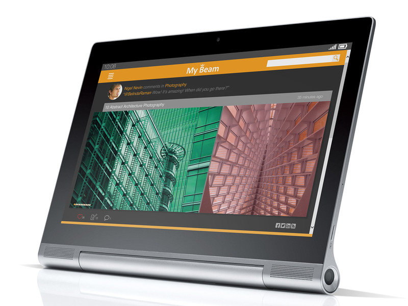 Lenovo Announces Windows, Android Line of Tablets, Featuring Yoga Tablet 2 Pro and Yoga Tablet 2 Slates
