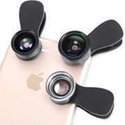 Amir-3-in-1-Clip-on-Cell-Phone-Camera-Lens-Kit-25x-Macro-Lens-036x-Wide-Angle-Lens-180-Fisheye-Lens-for-iPhone-6S-6S-Plus-Samsung-Galaxy-Windows-Most-Smartphones-0