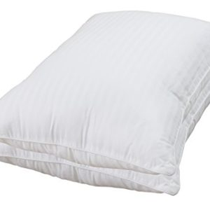 Utopia-Bedding-Gel-Fiber-Filled-Pillows-100-Cotton-Exterior-StandardQueen-Soft-and-Durable-Unique-Design-Resists-Flattening-and-Fiber-Shifting-2-Pack-0