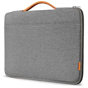 Inateck-13-133-Inch-Macbook-Air-Macbook-Pro-Pro-Retina-Sleeve-Case-Cover-Protective-Bag-Ultrabook-Netbook-Carrying-Protector-Handbag-for-13-Macbook-Air-MacBook-Pro-Retina-Dark-Gray-0
