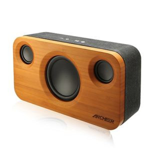 ARCHEER-25W-Bluetooth-Speakers-A320-with-Super-Bass-Bamboo-Wood-Home-Speaker-with-Subwoofer-0