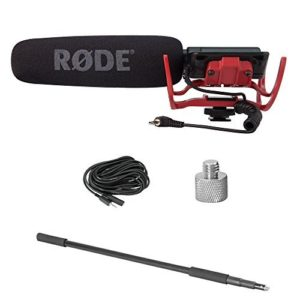 RODE-VideoMic-Directional-Video-Condenser-Microphone-with-Mount-Model-Discontinued-by-Manufacturer-0