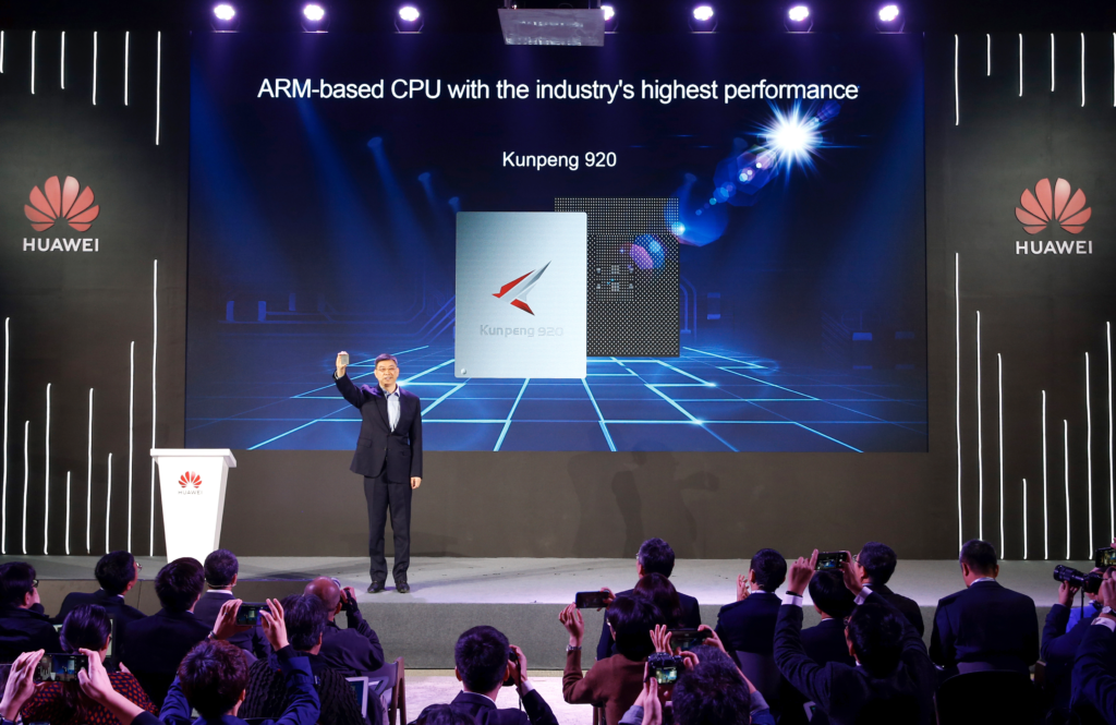 Kunpeng 920:  Huawei Unveils World's Highest-Performance ARM-based CPU